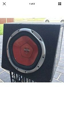 "Sony Xplod 12"" Subwoofer + Sony Original Box"