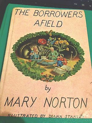 RARE book THE BORROWERS AFIELD by MARY NORTON 1st .Edition 1955s