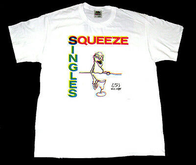 SQUEEZE Singles 45's and Under T shirt (Men S - 3XL )