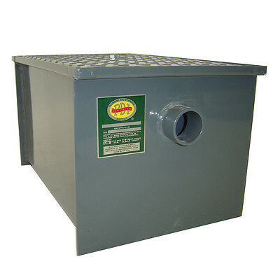 Grease Trap,70 LB capacity, 35 GL per Minute, With T-Vent, John Boos Model GT-70