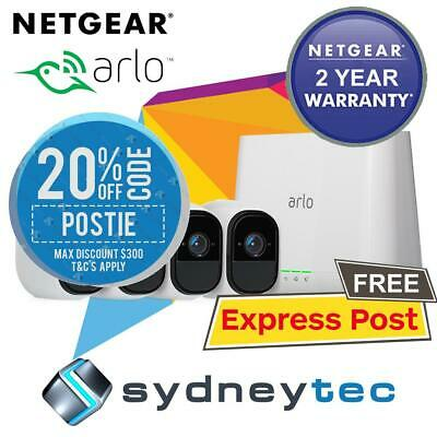 New NETGEAR Arlo Pro HD with 4 HD Cameras (VMS4330 + VMC4030) Bundle