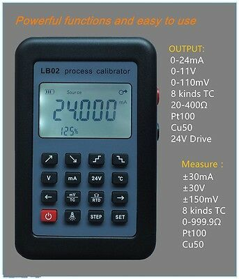 New 4-20mA/0-10V LB02 Resistance Current Voltmeter source Process calibrator