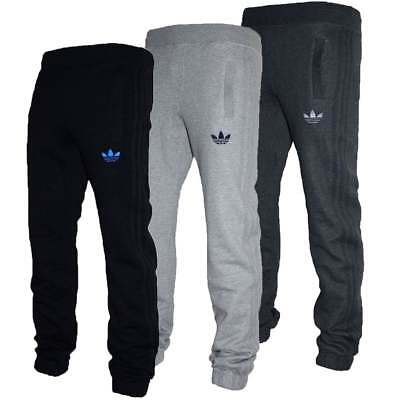 Adidas SPO Fleece Mens Tracksuit Jog Bottoms All Sizes in Various Colours