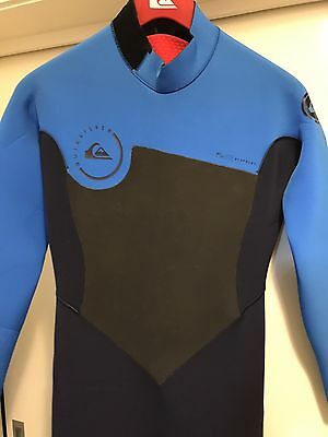 Quiksilver wetsuit Steamer Full suit Syncro GBS BackZip 3/2 New