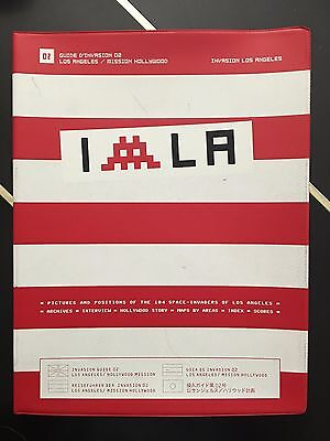 SPACE INVADER Invasion Los Angeles (Invasion Guide) First edition SOLDOUT 2004
