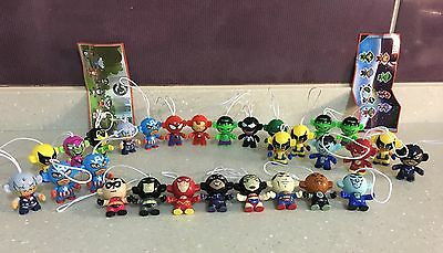 Kinder Egg Justice League and Marvel Pick Figures and Save See Description