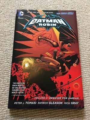 Batman And Robin Graphic Novel; Volume 4 Requiem For Damian