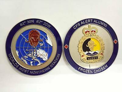 Canadian Forces CFS Alert Challenge Coin