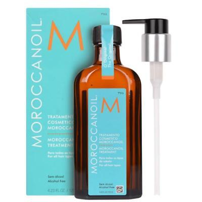 MoroccanOil Treatment Limited Edition 125 ml. With Free pump in the box Free P&P