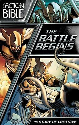 The Action Bible Graphic Novels: The Battle Begins : The Story of Creation 1 by