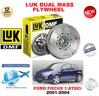 FOR FORD FOCUS 1.8 TDCi 2001-2004 ORIGINAL LUK DMF DUAL MASS FLYWHEEL BRAND NEW
