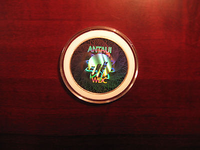 VERY RARE -LOADED 5 WORLDCOIN ANTAUI (casascius/Physical bit coin/LTC/ETH/WDC))