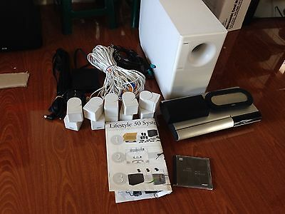 bose lifestyle 50 home theater system fully working
