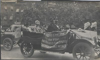 Snapshot Photo 1915 Women's Suffrage Rally Washington D C 4 Photos