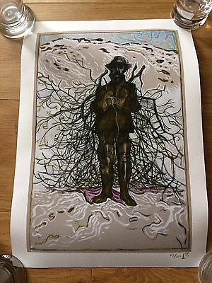 Billy Childish Signed Print