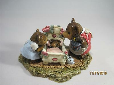 Wee Forest Folk Just a Peek - Comes With WFF Bear Box - New