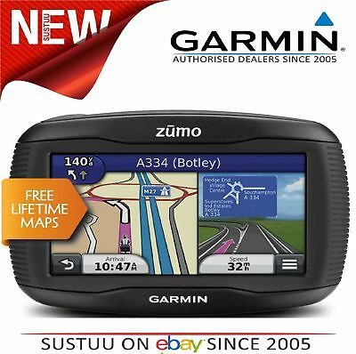 Garmin Zumo 345LM UK+WEurope│GPS SatNav│Motorcycle│Bluetooth│Lifetime Map Update