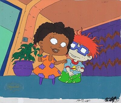 RUGRATS Production Cel Cell Original Painted Animation Art Nickelodeon Suzi