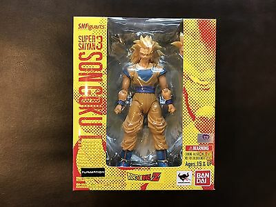 Bandai S.H. Figuarts Dragon Ball Z Super Saiyan 3 Son Goku Complete MIB US Sell