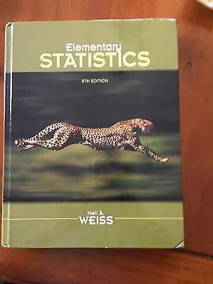 Elementary Statistics by Neil A. Weiss (2011, Hardcover, with Student CD)