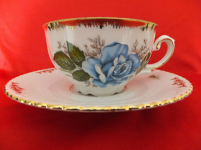 Vintage: tea cup Kronester and saucer Seltmann Weidew. Bavaria, Germany