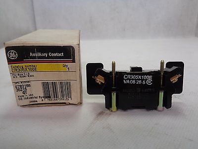 New Ge General Electric Cr305X100E Auxiliary Contact