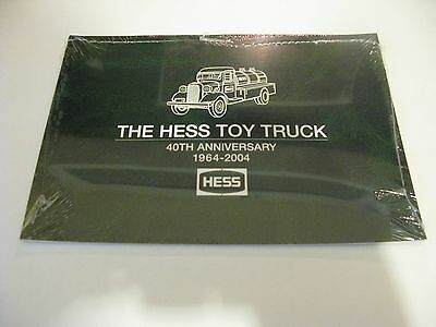 SEALED HESS TOY TRUCK 40TH ANNIVERSARY 1964-2004 Book  SALE ENDS SATURDAY