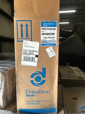 Donaldson Torit Flame Retardant Filter Cartridge P191115-016-340 Sdf Ultra-Web