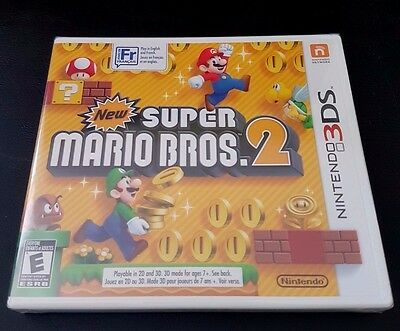 NEW SUPER MARIO BROS 2 - Nintendo 3DS - BRAND NEW!