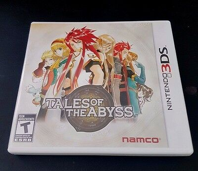 TALES OF THE ABYSS - Nintendo 3DS - COMPLETE!