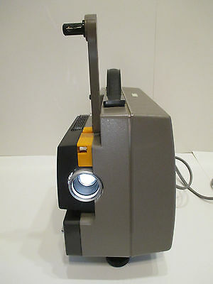 SANKYO SOUND-600 Super 8 Magnetic Sound Projector w/100w Lamp--NICE!