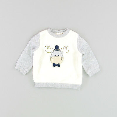 Jersey color Beige marca Baby Club 3 Meses