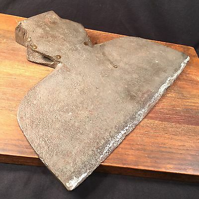 Antique Axe Head Blacksmith Hand Hewn Large Heavy PRIORITY MAIL
