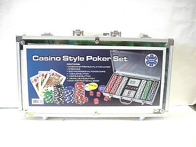 Casino Style 330 Proffessional Grade Chip Poker Set #GM7317