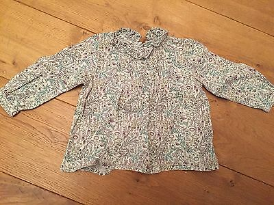 Next Ditsy Floral Girls Top 9-12 Months