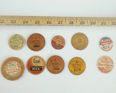 Group of Milk/ Dairy Caps/Lids 10 as pictured (2)