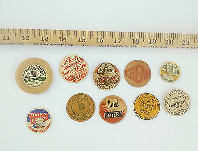 Group of Milk/ Dairy Caps/Lids 10 as pictured (3)