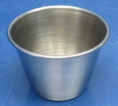 Lot of 72 Update International 2.5 oz. Stainless Steel Sauce Cups SC-25