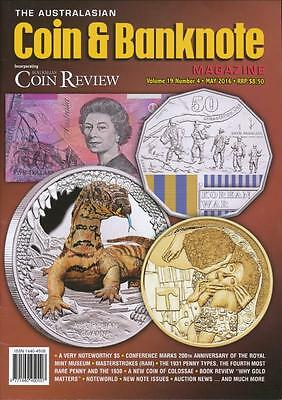 The Australasian Coin and Banknote Magazine, May 2016, Volume 19, Number 4