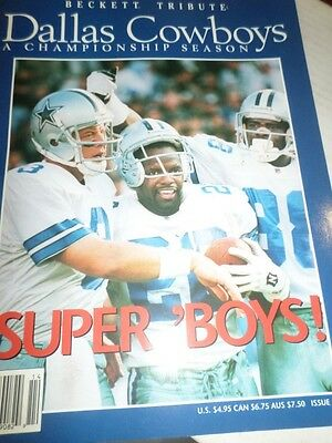Dallas Cowboys Tribute Beckett Magazine