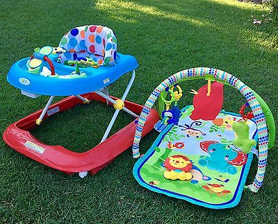 Baby Walker And Playmat