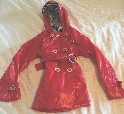 Pumpkin Patch Child Size 5 red Raincoat. Never Worn. Excellent Condition