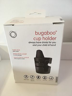 Genuine Bugaboo Cup Holder,NEW VERSION 2017.  fits all Bugaboo models NEW BOXED
