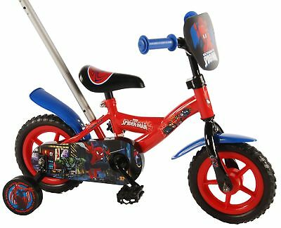 kinderfahrrad ultimate spider man 12 zoll kinder fahrrad. Black Bedroom Furniture Sets. Home Design Ideas