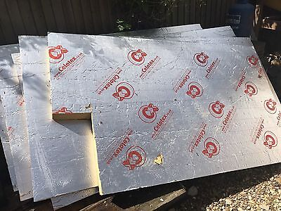 4 1/2  x sheets of Cellotex 100mm