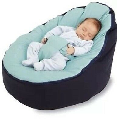Baby Plus Toddler Snuggle Seat ,2 Layers Brand New-Acqua