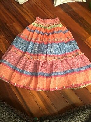 Girls Justice Size 6 Skirt