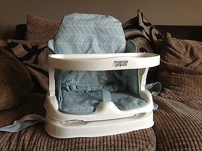 Mamas & Papas Booster Seat - Attach To Household Chairs