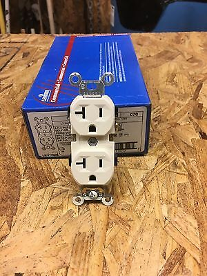 Leviton Cr20-T Duplex Receptacle New Case Of 30