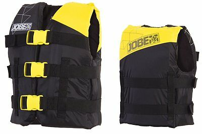 Jobe Progress Nylon Vest Youth Kids Life Jacket Float yellow